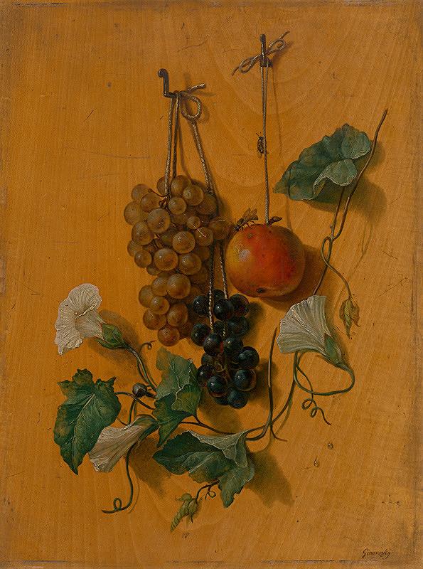Jozef Ginovský – Zátišie s ovocím