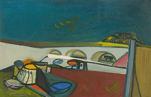 Vincent Hložník – Pri rieke Tiber