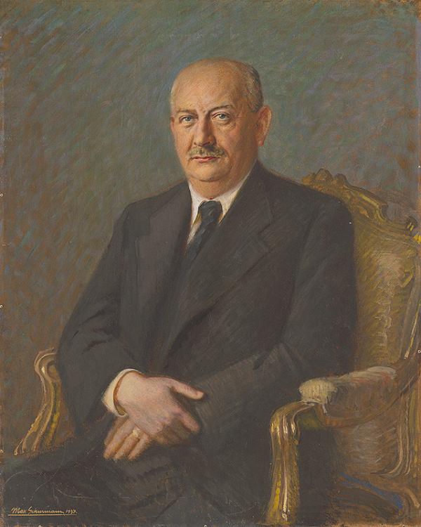 Maximilián Schurmann – Podobizeň Dr.Kállaya
