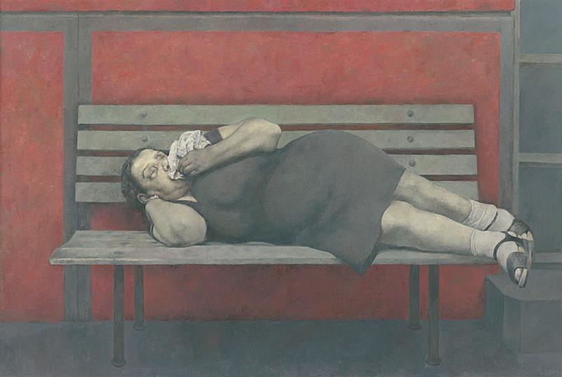 Jozef Srna st. – Nevidomá, 1984 – 1985, Zbierka Linea