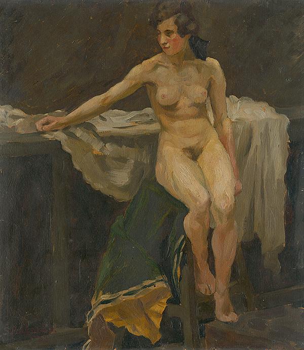 Štefan Polkoráb - Štúdia ženského aktu