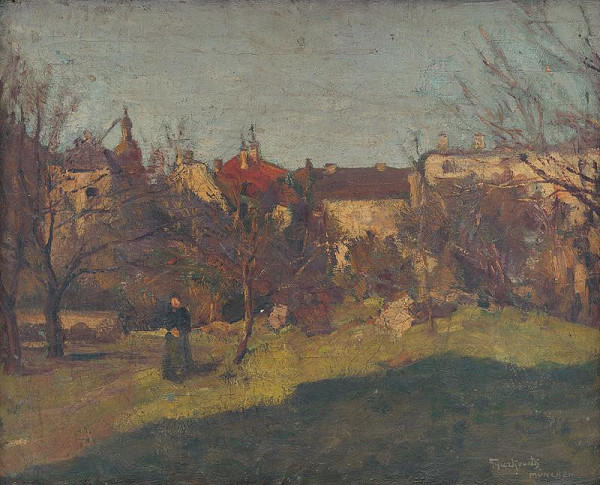 František Gyurkovits – Krajina z Mníchova