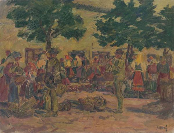 Gustáv Mallý – Pezinský trh