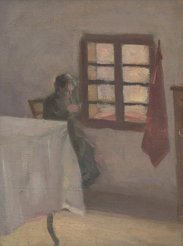 Eduard Putra - Žena pri okne