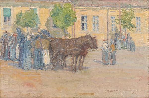Elemír Halász-Hradil – Na trhu