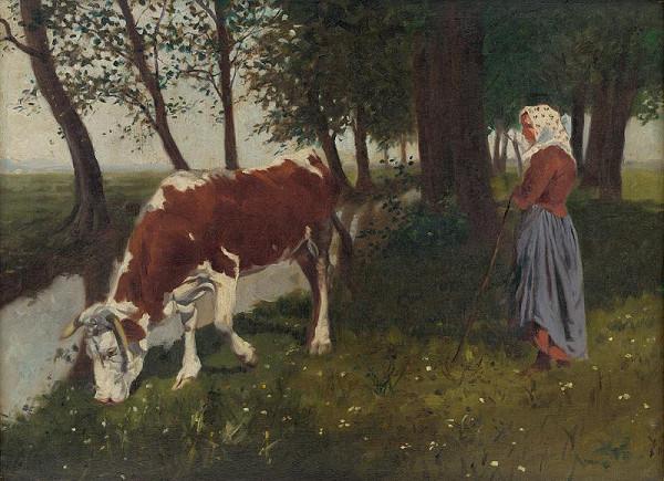 Gustáv Mallý – Pastierka