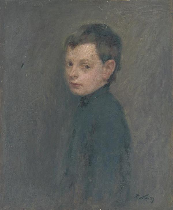 František Gyurkovits - Štúdia chlapca