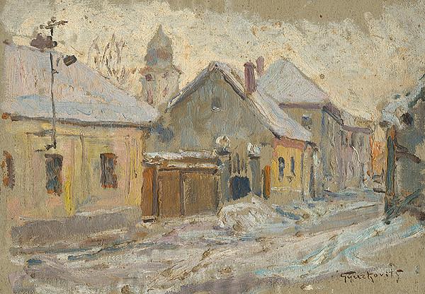 František Gyurkovits - Zima v Lučenci