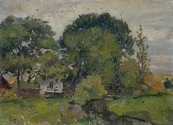 František Gyurkovits – Krajina so stromami