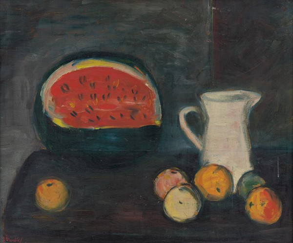 Jozef Šturdík – Zátišie s melónom