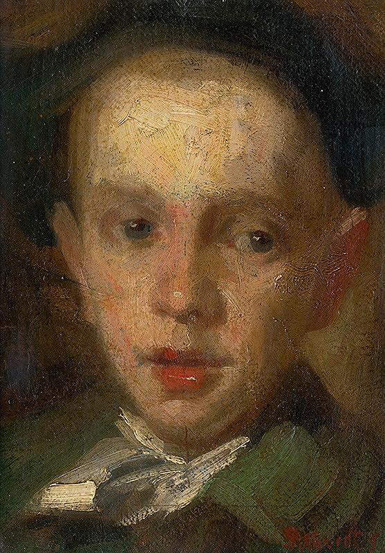 Ľudovít Pitthordt - Hlava chlapca