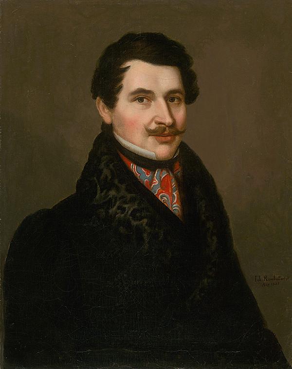 Ján Rombauer – Portrét muža v kožušinovom golieri
