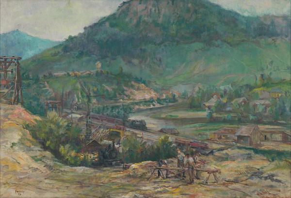 Július Jakoby - Údolie Hornádu