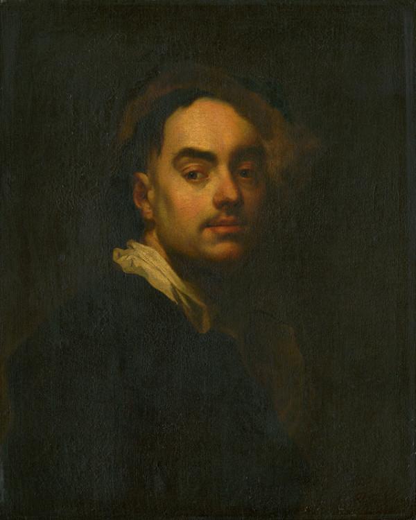 Ján Kupecký, Franz Anton Palko - Portrét muža (Autoportrét)