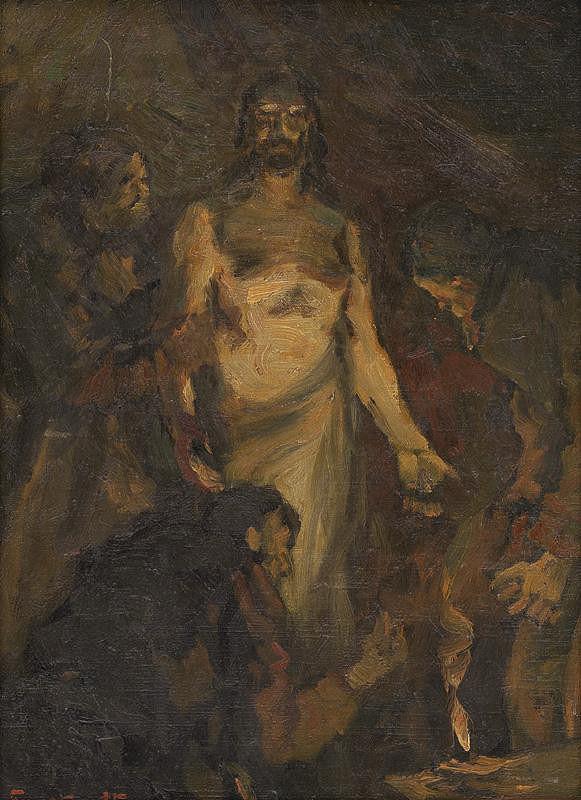 František Gyurkovits - Kristus sa zjavuje apoštolom