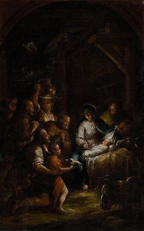 Stredoeurópsky maliar, Stredoeurópsky maliar z 18. storočia, Franz Xaver Wagenschön - Narodenie