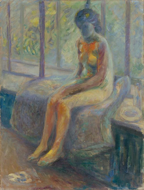 Ján Mudroch – Štúdia ženského aktu