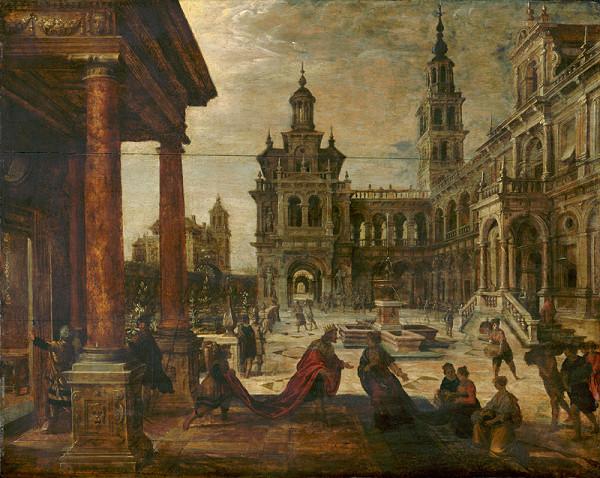 Paul Vredeman de Vries – Šalamún a Kráľovná zo Sáby