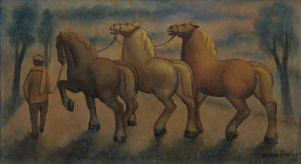 Štefan Bednár – Kone