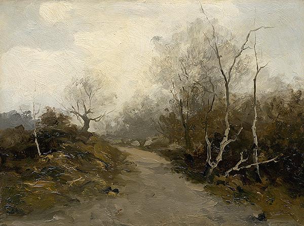Felicián Moczik - Cesta lesíkom