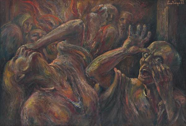 Ľudovít Varga – Výjav z koncentráku