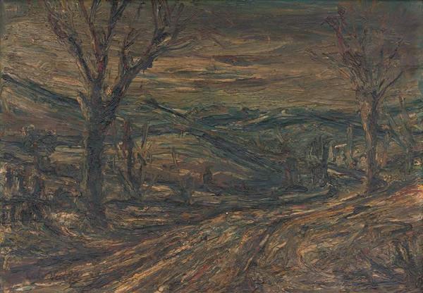 Ľudovít Varga - Krajina so stromami