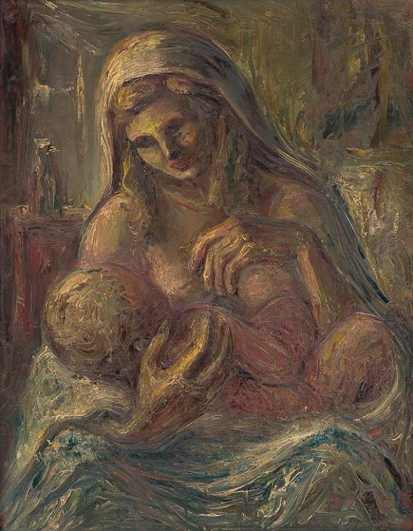 Ľudovít Varga - Madona s dieťaťom