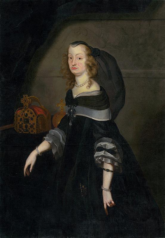 Nemecký maliar - Portrét Eleonóry Mantovskej