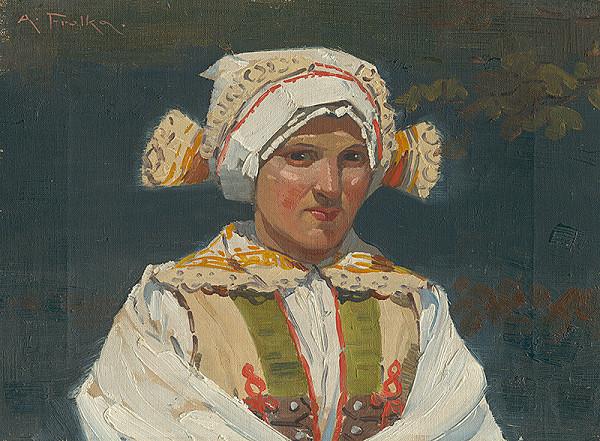 Antoš Frolka - Dievča v kroji