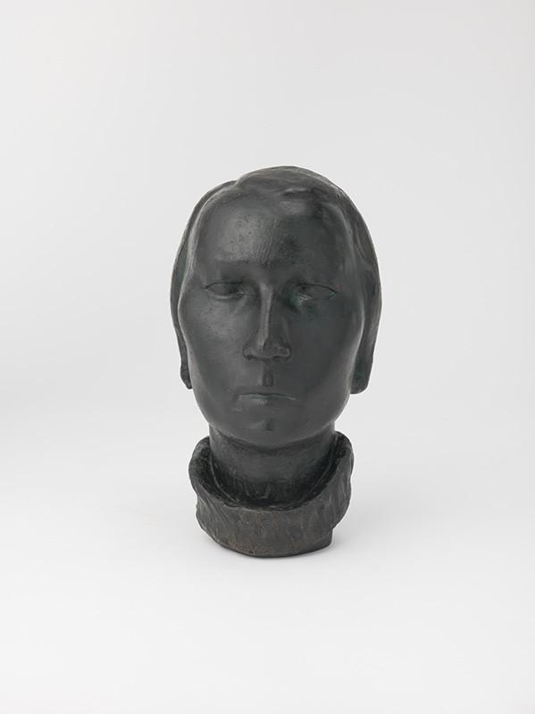 Dagmar Rosůlková. Hlava ženy, 1936–1937. Slovenská národná galéria.