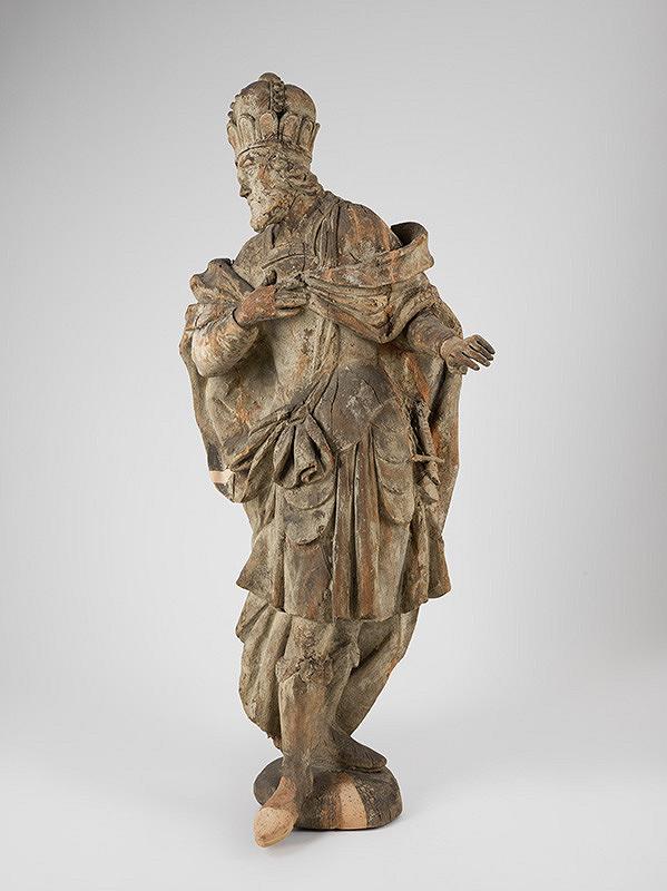 Slovenský rezbár z 1. tretiny 18. storočia, Neznámy rezbár - Svätý Štefan