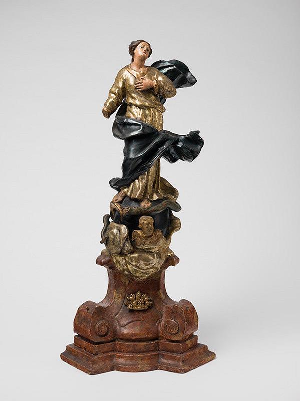 Slovenský rezbár z konca 18. storočia, Neznámy rezbár - Immaculata