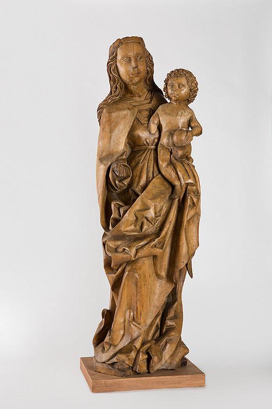 Slovenský rezbár zo začiatku 16. storočia – Madona s Ježiškom z Brutoviec