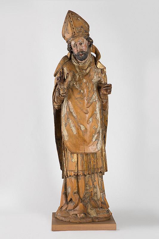 Slovenský majster z 15. storočia - Svätý Biskup-Mikuláš ?