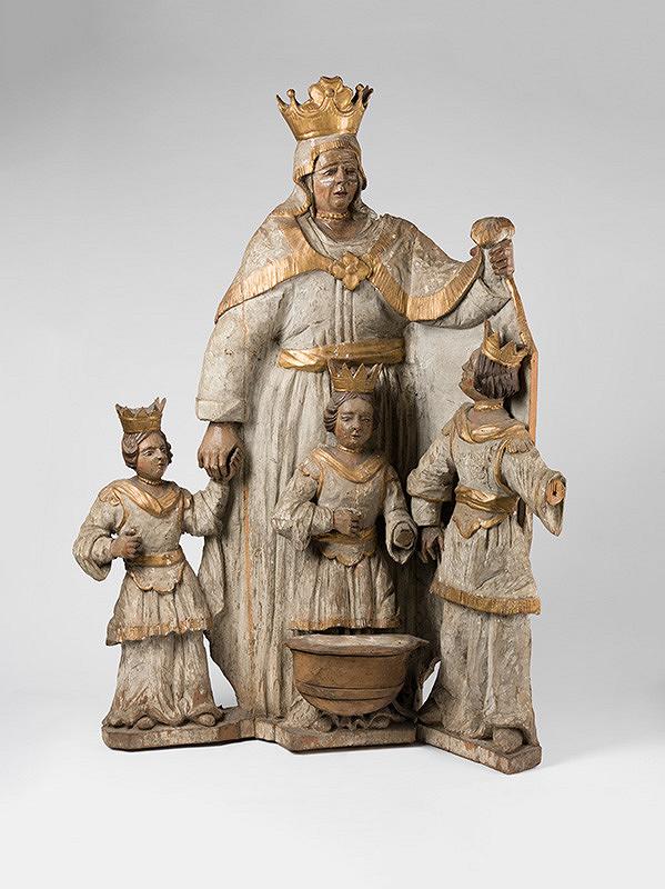 Slovenský majster z konca 17. storočia, Neznámy majster - Panna Mária Ochránkyňa