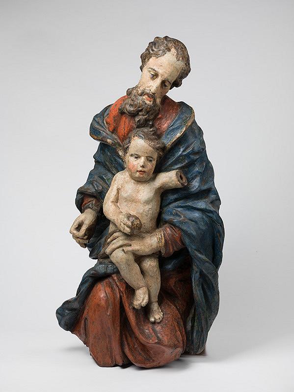 Slovenský rezbár z 3. tretiny 18. storočia, Neznámy rezbár - Svätý Jozef s Ježiškom