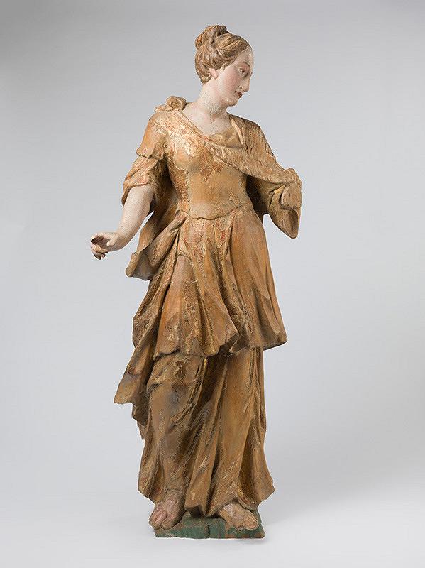 Slovenský rezbár z 3. tretiny 18. storočia, Neznámy rezbár - Svätica