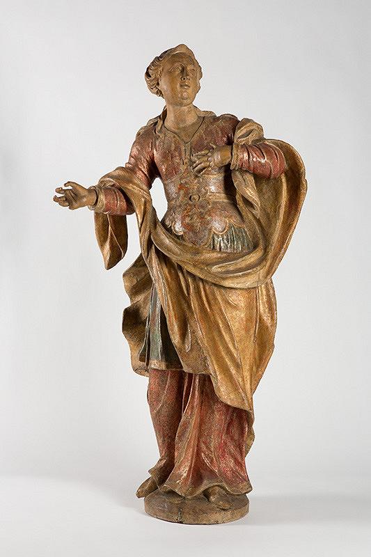 Dionýz Ignác Stanetti, Slovenský rezbár z polovice 18. storočia - Svätica