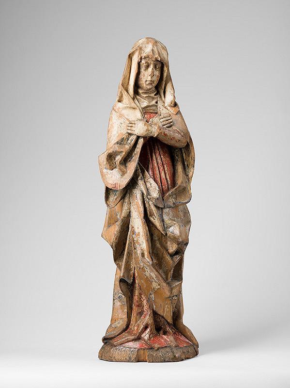 Neznámy rezbár, Slovenský rezbár z konca 15. storočia – Bolestná Panna Mária z Kalinky