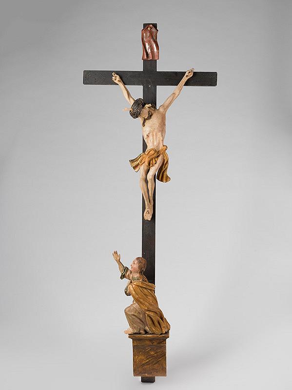 Slovenský rezbár okolo polovice 18. storočia, Neznámy rezbár – Ukrižovaný Kristus