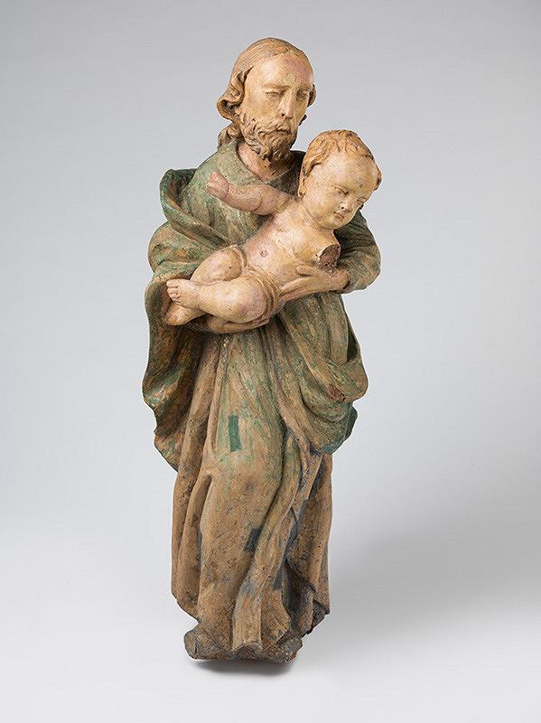 Slovenský rezbár z polovice 18. storočia, Neznámy rezbár - Svätý Jozef s Ježiškom