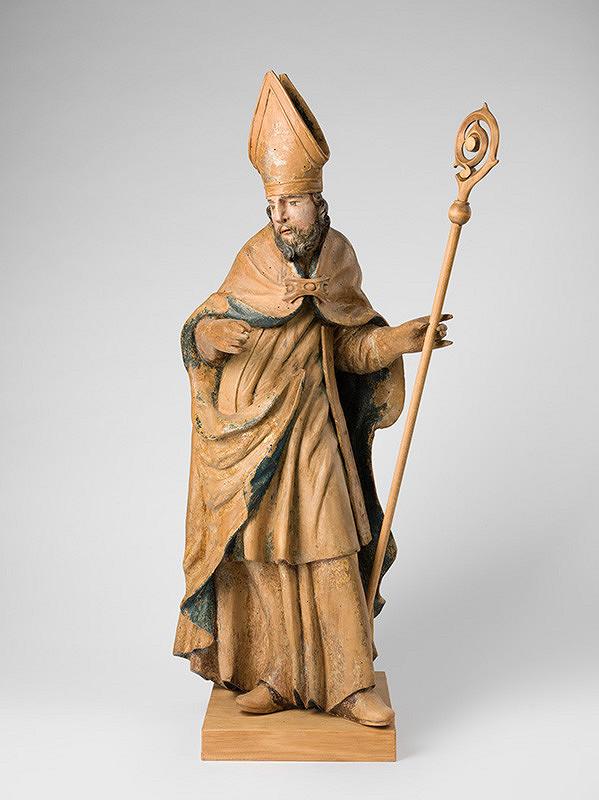 Slovenský rezbár z polovice 18. storočia, Neznámy rezbár - Biskup