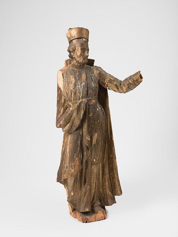 Slovenský rezbár z polovice 18. storočia, Neznámy rezbár - Svätec
