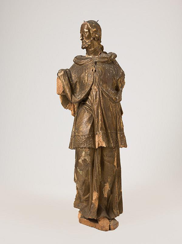 Slovenský rezbár z polovice 18. storočia, Neznámy rezbár - Svätý  Ján Nepomucký