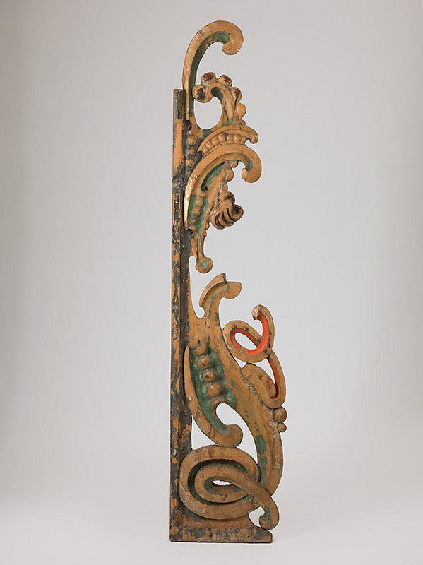 Slovenský rezbár zo 17. storočia, Pavol Gross ml., Pavol Gross st. – Fragment  dekoratívneho krídla organovej skrine