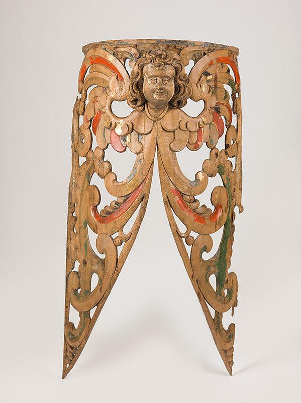 Slovenský rezbár zo 17. storočia, Pavol Gross ml., Pavol Gross st. - Fragment  dekoratívnej výzdoby píšťaľovej časti organovej skrine