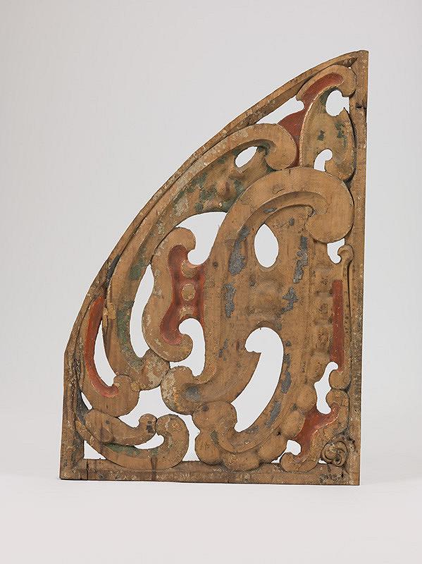 Slovenský rezbár zo 17. storočia, Pavol Gross ml., Pavol Gross st. – Fragment  dekoratívnej výzdoby píšťaľovej časti organovej skrine