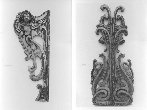 Slovenský rezbár zo 17. storočia, Pavol Gross ml., Pavol Gross st. – Fragmenty dekoratívnej rezbárskej výzdoby organovej skrine