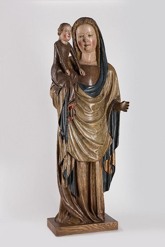 Slovenský rezbár z konca 14. storočia - Madona s Ježiškom z Olcnavy