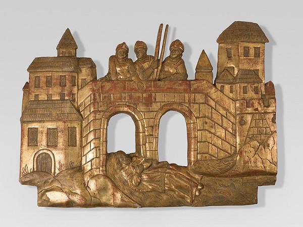 Slovenský rezbár z 2. polovice 18. storočia, Neznámy rezbár – Smrť sv.Jána Nepomuckého